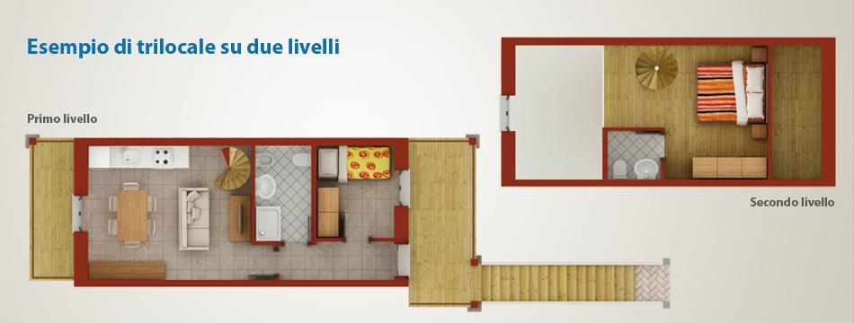 Case appartamenti bilocali e trilocali macugnaga monte for Casa con due camere da letto